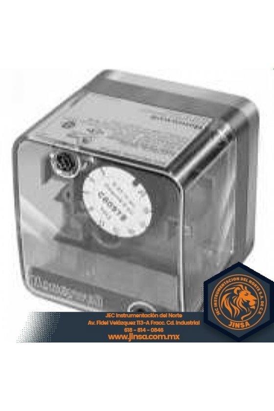 C6097A1046 PRESURETROL BRIDA  12-60 in wc  dif 25-3  reset man  NO c/baja