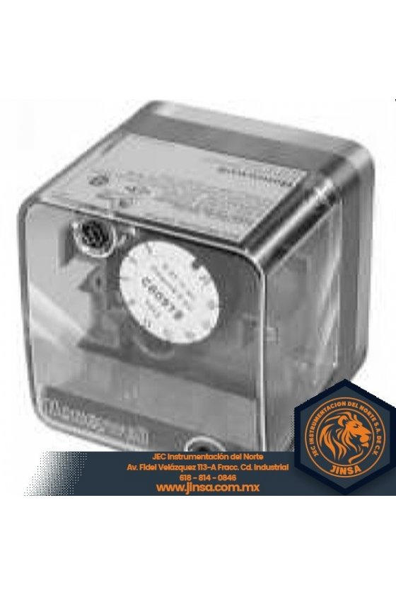 C6097A1061 PRESURETROL BRIDA 3-21 IN WC DIF 24-42 RESET AUTO BREAK