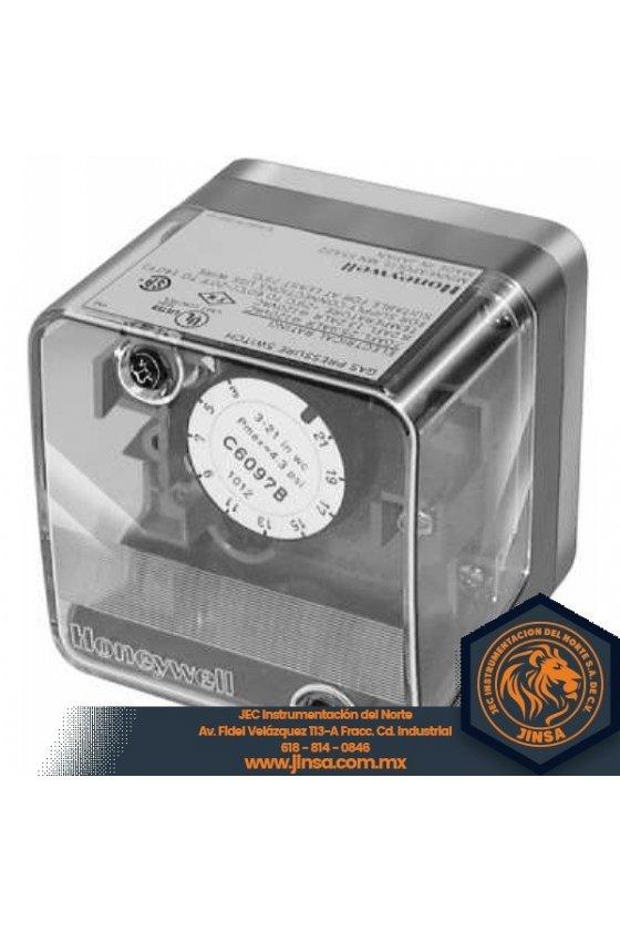 C6097B1010 PRESURETROL brida  12-60 in wc  dif 10-12  reset manual  P+