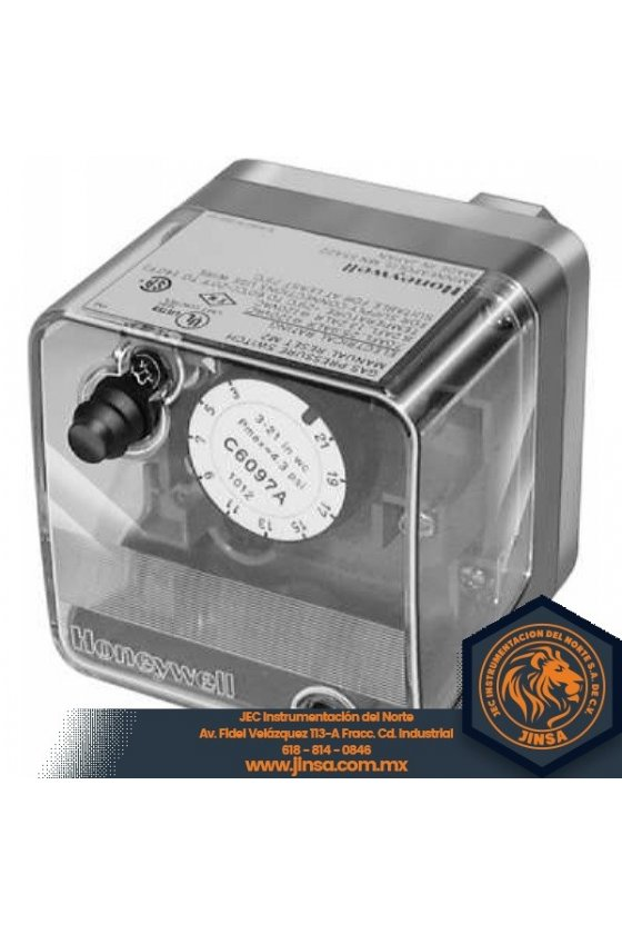 C6097B1028 PRESURETROL 1/4 NPT  3-21in wc  dif 24-42  reset man  P+