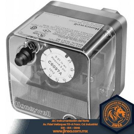 C6097B1085 PRESURETROL 1/4 NPT  12-60 IN wc  dif 11-24  auto rec  P+