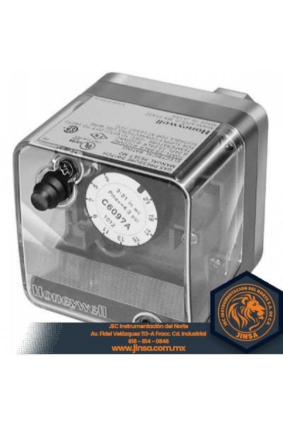 C6097B1119 PRESURETROL 1/4 NPT  3-21 IN wc  dif 24-48  auto rec  P+