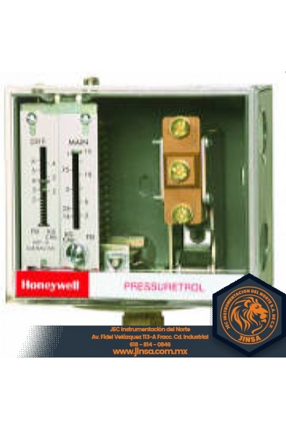 L404V1087 PRESURETROL P/ACEITE 10-150 PSI