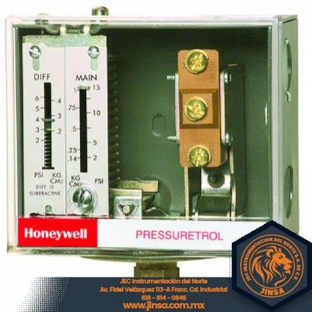L404F1102 PRESURETROL 10-150 PSI  DIF10-22 PSI  SIN SIPHON