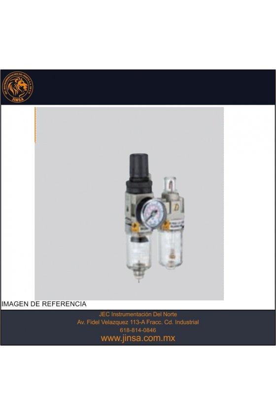 EIC3000-02  FILTRO REGULADOR LUBRICADOR 1/4 C/M