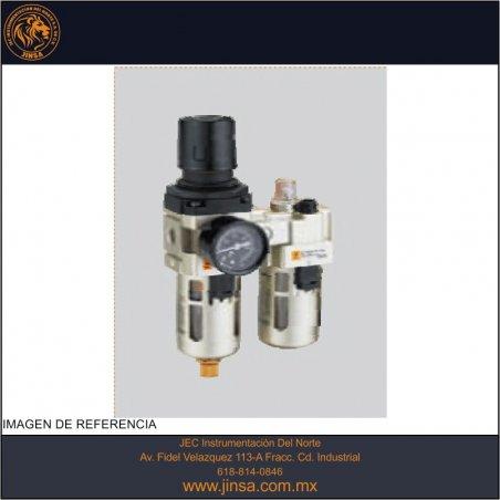 EIC4000-03  FILTRO REGULADOR LUBRICADOR 3/8 C/M