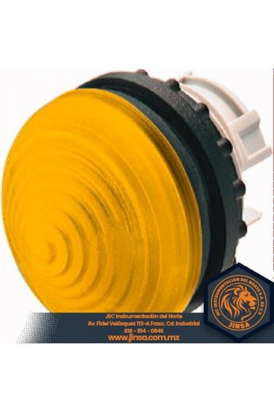 Luz indicadora, elevada, amarilla