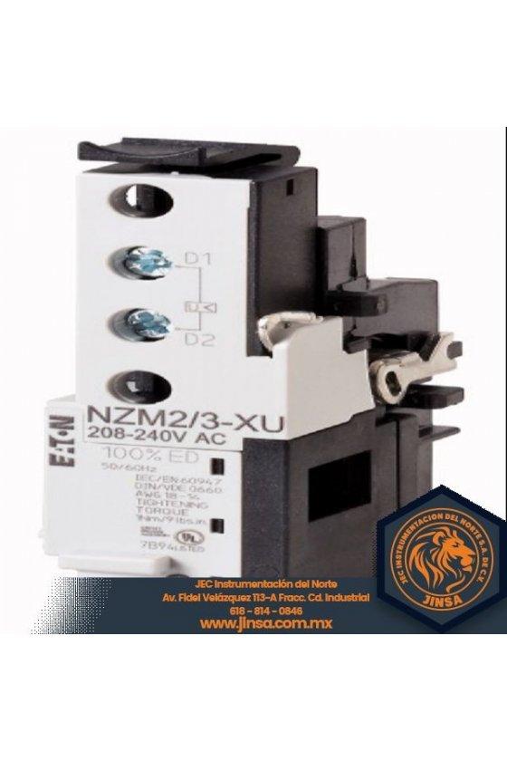 NZM2-3-XU208-240AC Descarga de baja tensión, 208-240 VCA