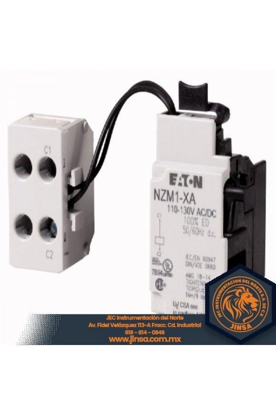 NZM1-XA208-250AC-DC Desconexión de derivación, 208-240 VCA / CC