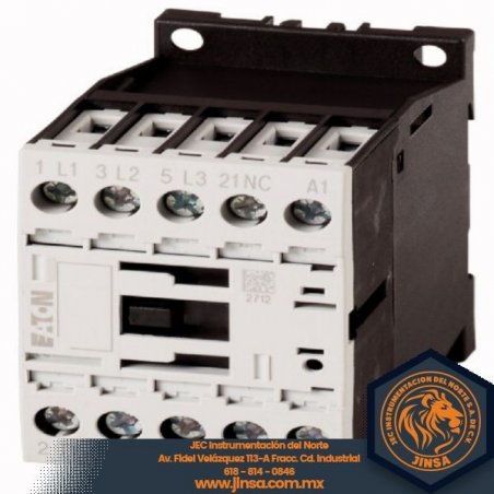 276600 Contactor, 3p + 1N / C, 3kW / 400V / AC3 DILM7-01(24VDC)