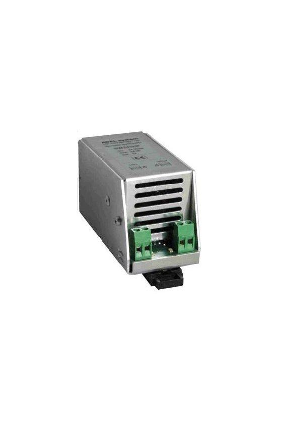 SW125HP Fuente de poder con interruptor, salida: 12VDC 5Amp