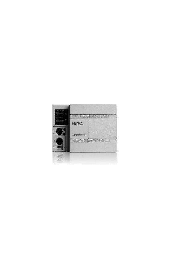 Unidad PLC economico 24VDC 6W/max 8 entradas/8 salidas serie HCA2C-8X8YR-D