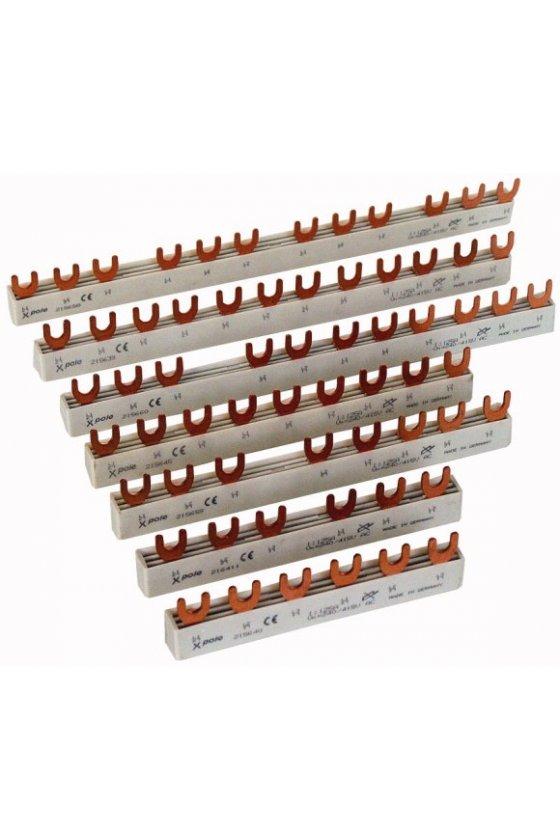291467 Barras de distribución EV 2Ph., 4HP, 80A para PLS. CLS. PKN., PFIM, PFHM, PFNM EVG-16-2PHAS-4MODUL