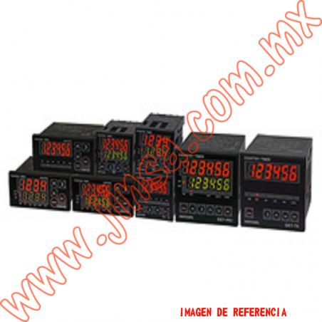 GE4P41D Contador  1 Predeterminado 48x48mm 4 dígitos 24-60vcd input NPN-PNP salida SSR y Relay 1NA+1NC 3A 240vca