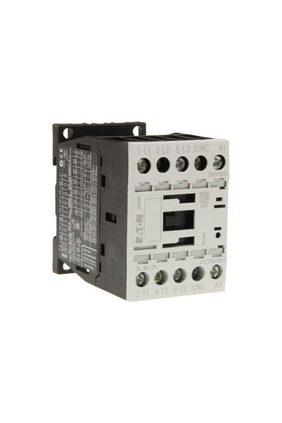 290108 Contactor, 3p + '1N' / C, 7.5kW / 400V / AC3  DILM15-01 (24VDC)