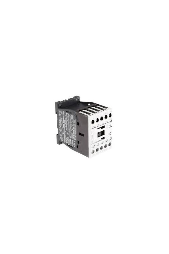 290071  Contactor, 3p + 1N / O, 7.5kW / 400V / AC3 DILM15-10(110V60HZ)
