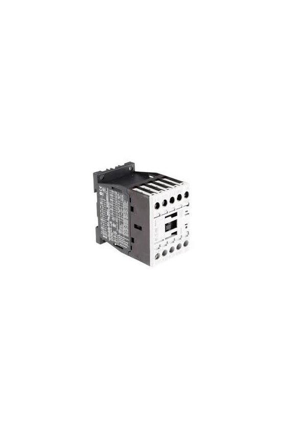 290071  Contactor, 3p + 1N / O, 7.5kW / 400V / AC3 DILM15-10(110V60HZ)