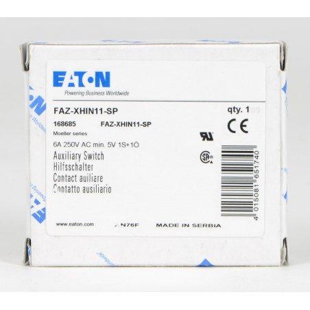 286054  Contacto auxiliar, para FAZ, PKNM, 1N / O + 1N / C, 0.5HP FAZ-XHIN11