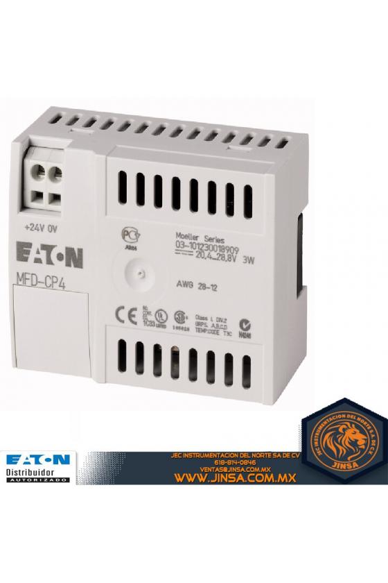 280888 Módulo de comunicación / unidad de fuente de alimentación para visualización remota de texto MFD-CP4