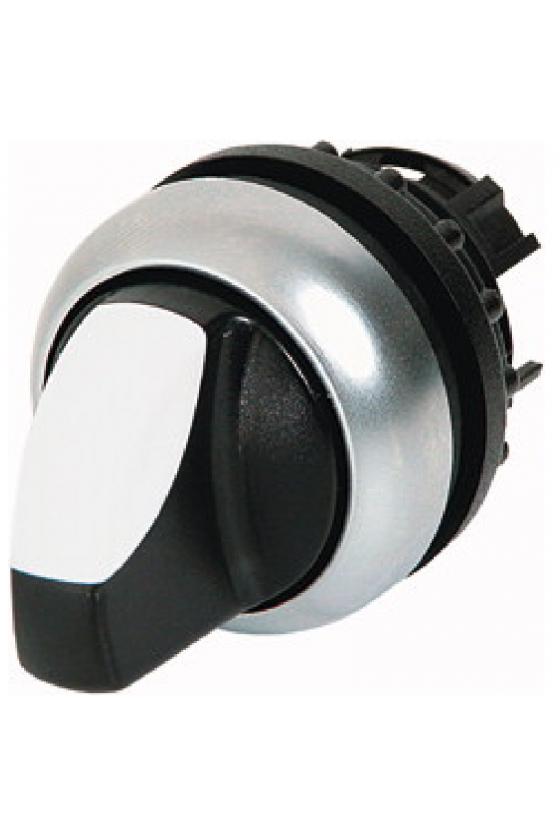 279431 Interruptor selector, alternar, 4 posiciones, negro 1 0 2 0 3 0 4 0, mantenido M22-WRK4