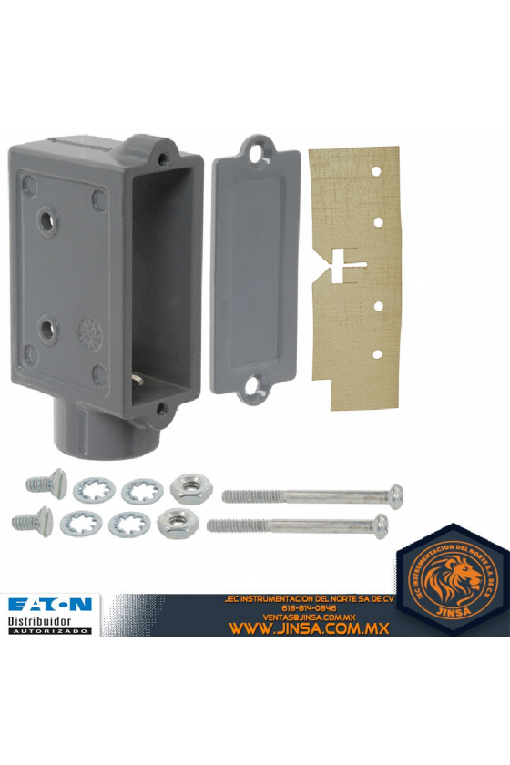 3PA1 CAJA PROTECTORA DE ALUMINIO Interruptor básico Estándar CAJA DEN-CAST ZINC