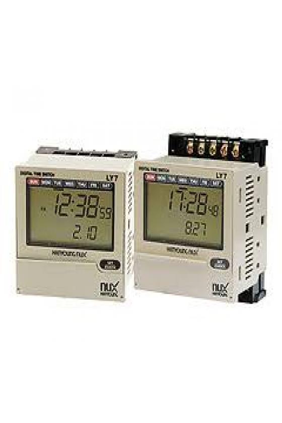 LY4 PROGRAMADOR LCD SEMANAL Y ANUAL
