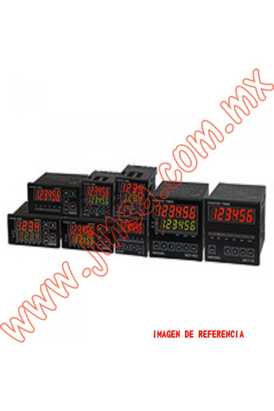 GE4P41A contador  1 Predeterminado 48x48mm 4 dígitos 100-240vca input NPN-PNP salida SSR y Relay 1NA+1NC 3A 240vca