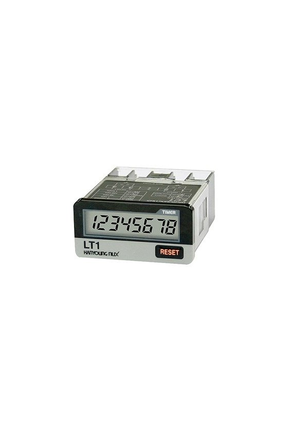 LT1F Horómetro con voltaje...