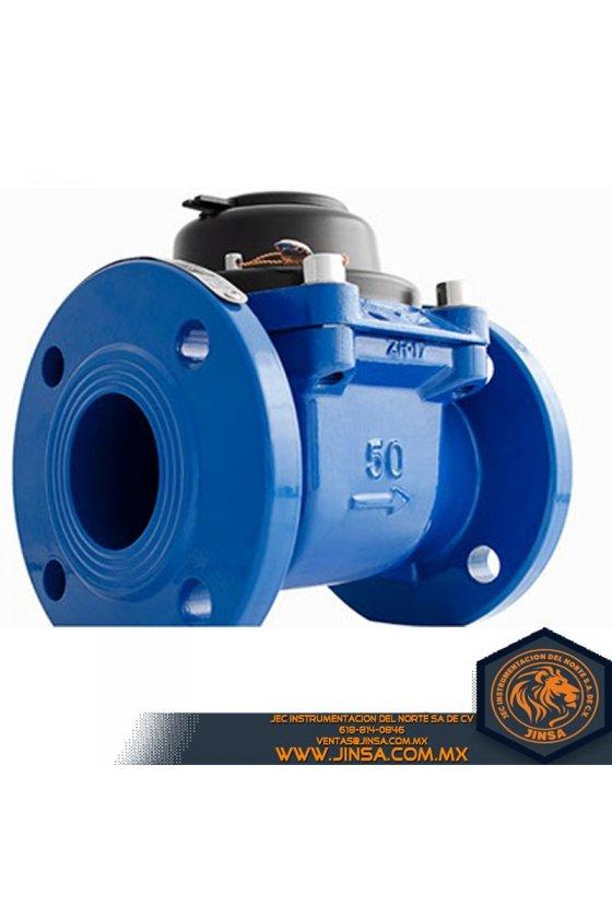 Medidor turbina para agua potable fría hasta 30ºC, fabricado en fierro fundido, DXMMP50