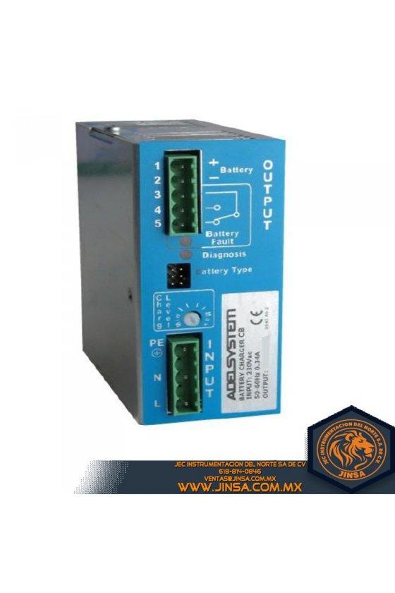 CB243A Cargador de batería 3 Amps/Input 115-230VAC/Output 24VDC
