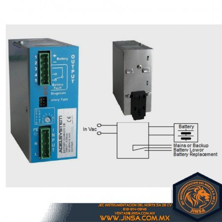 CB363A Cargador para bateria de 3 niveles In 120VAC/Out 36VDC/3Amp