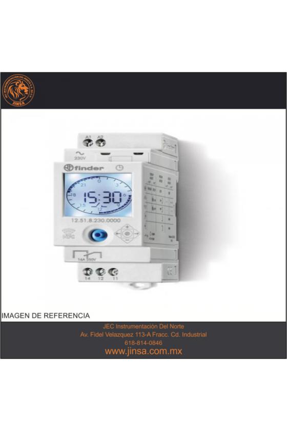 12.51.8.230.0000 Series 12 - Interruptores horarios 16 A