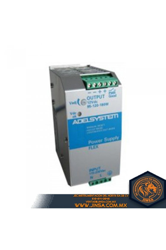 FLEX17012A Fuente de poder 14 Amps/Input 115-230VAC/Output 12VDC