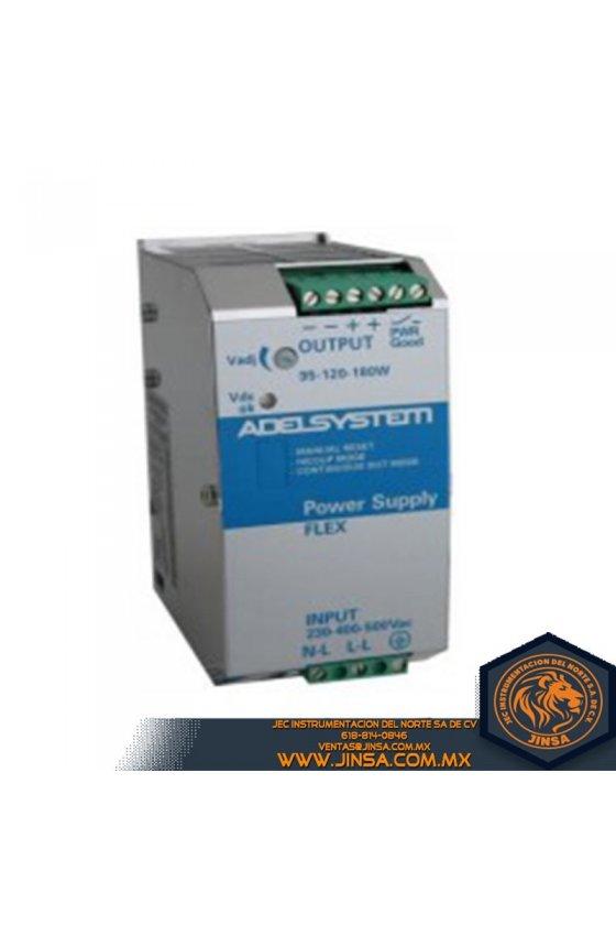 FLEX17048A Fuente de poder 3.8 Amps/Input 115-230VAC/Output 48VDC