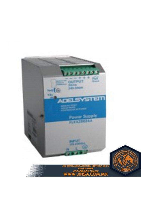 FLEX50024A Fuente de poder 25 Amps/Input 115-230VAC/Output 24VDC