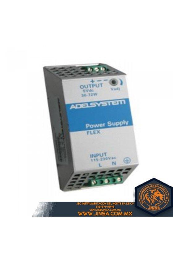 FLEX6005A Fuente de poder 5 Amps/Input 115 - 230VAC/Output 5VDC