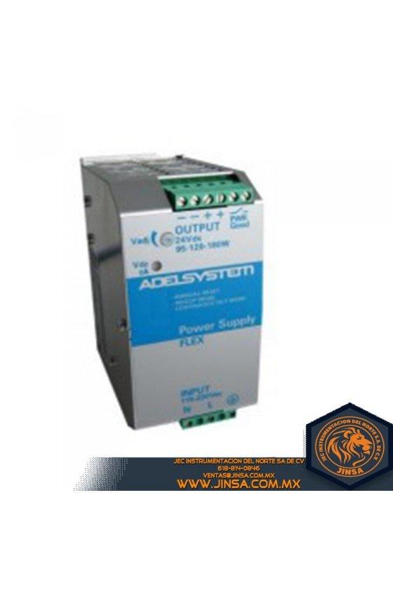 FLEX9024B Fuente de Poder 5 Amps/Input 230-500VAC/Output 24VDC/ 2 Fases