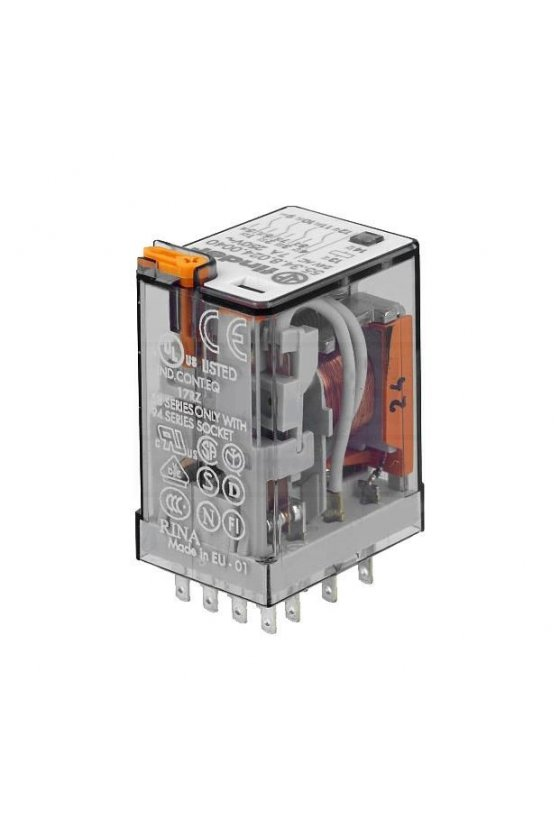 55.34.9.024.0040 Series 55 - Relés industriales 7 - 10 A