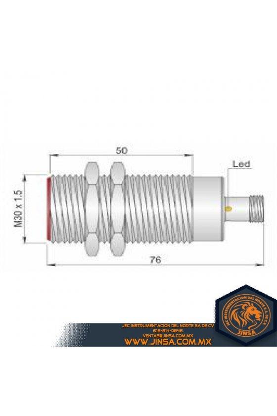 SI30C10 PNP NO (I30000051) SENSOR DE PROX30MM DIAMSENSA 10MM 10-30VDC