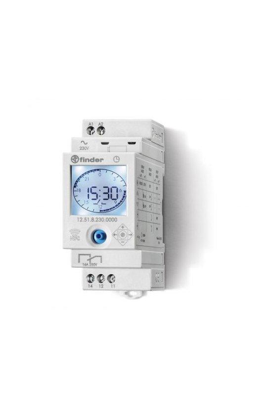 12.62.8.230.0000 Series 12 - Interruptores horarios 16 A