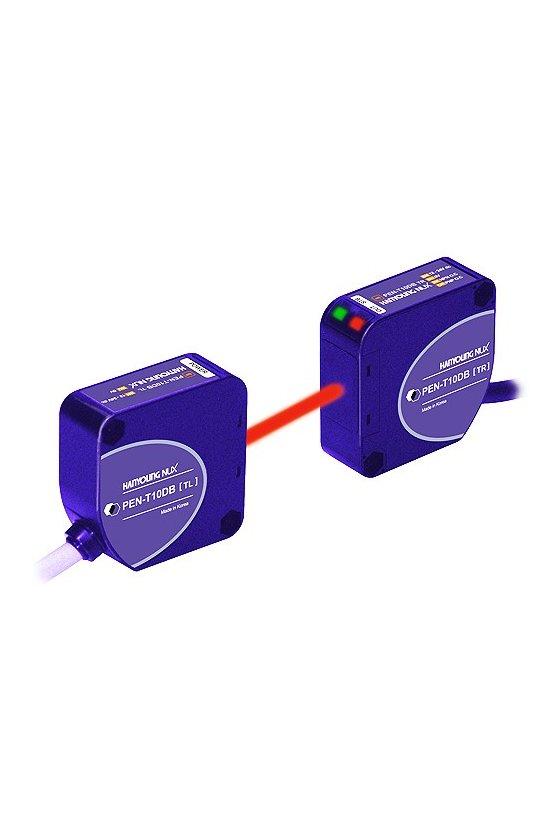 PEN-T10A Fotocelda Emisor- receptor  10m 24-240vca-vcd