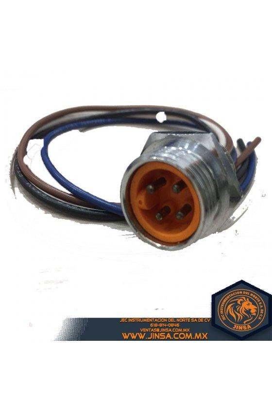 MBC-4,CONECTOR MACHO 4 PIN,25227