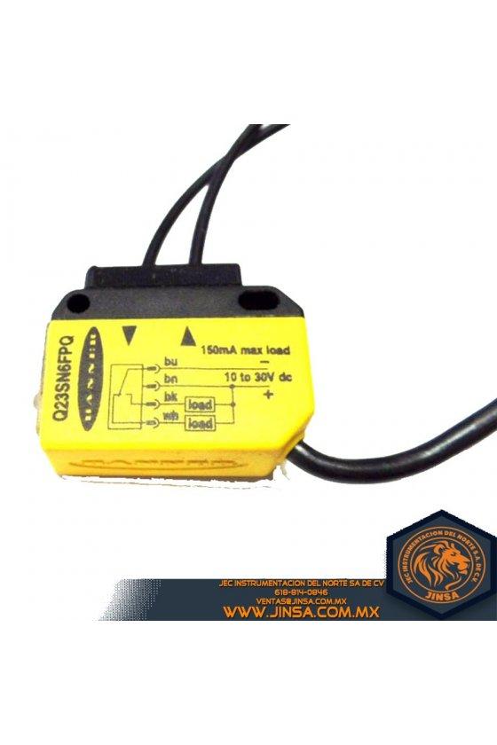 Q23SN6LP,SENSOR RETRORFPOLARIZ  SENS 1-2M  NPN  10-30VDC,46429