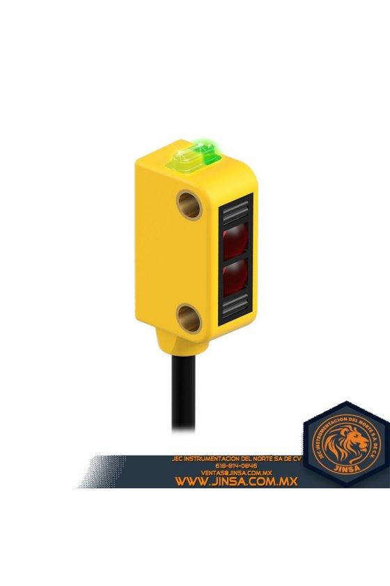 Q23SP6DQ,SENSOR DIFUSO 10-30V PNP DIST 8 IN  C/CONECTOR,46448