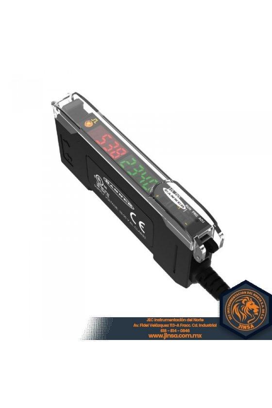 DF-G1-PS-Q5 Amplificador de fibra de pantalla dual DF-G1,Rango,Depende de la fibra Entrada 10-30 V