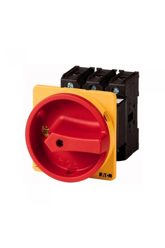 280922 Interruptor principal, 3 polos, 160 A, Función de parada de emergencia P5-160-EA-SVB