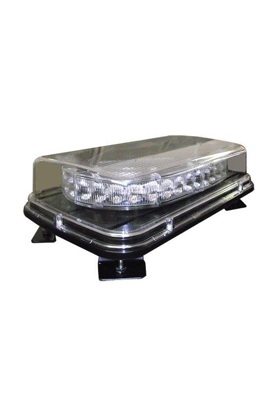 """SOT3511MCA TORRETA LED MINI BARRA 12-24VCD 11""""x7""""x3"""" COLOR AMBAR CON IMAN Y CABLE 309.00432.60"""