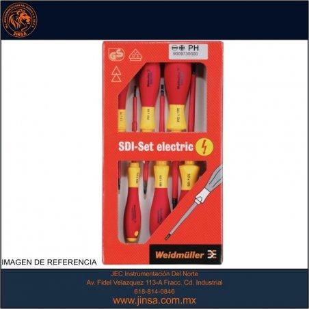 SDIS 2,5-5,5/PH1/1 SET DE 6 DESTORNILLADORES