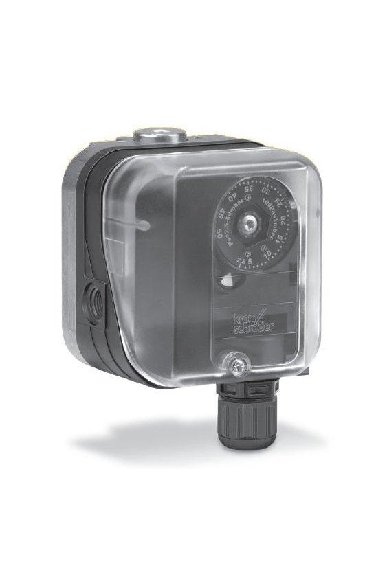DG 150 HT  (KS84447932) Switch de presion, reset manual, trips al subir la presion, rango12-60IN WC