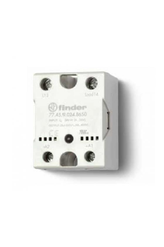 77.45.9.024.8650 Series 77 - Relé de estado sólido modular (SSR) 5 - 15 - 30 A